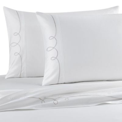 Barbara Barry Dream Elegant King Pillowcase Pair in Sterling