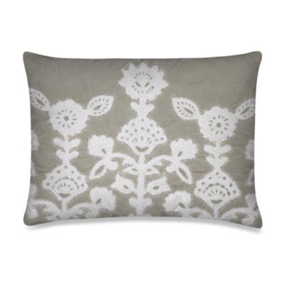 KAS® Luella Oblong Toss Pillow in Grey