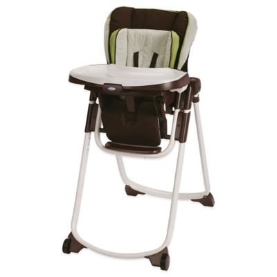 Brown Green High Chair