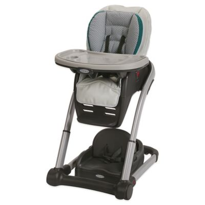 Graco® Blossom™ 4-in-1 High Chair Seating Cushion System in Sapphire
