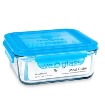 Blue Food Cubes