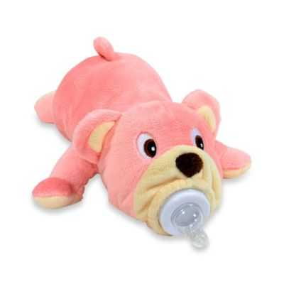Bella the Pink Bear Bottle Pet