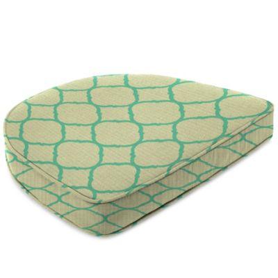 Sunbrella® 19-1/2-Inch x 19-1/2-Inch Dining Chair Cushion in Accord Jade