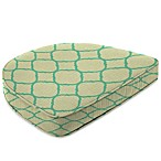 Sunbrella® Dining Chair Cushion in Accord Jade