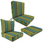 Sunbrella® Chair Cushion Collection in Astoria Lagoon