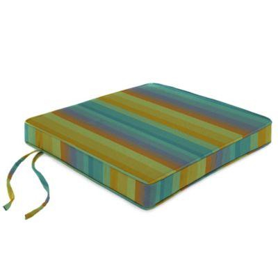 18-Inch Chair Cushion in Sunbrella® Astoria Lagoon