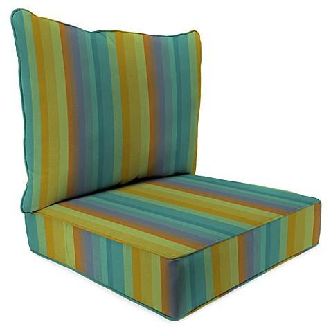 Buy 24 Inch X 24 Inch 2 Piece Deep Seat Chair Cushion In Sunbrella Astoria L
