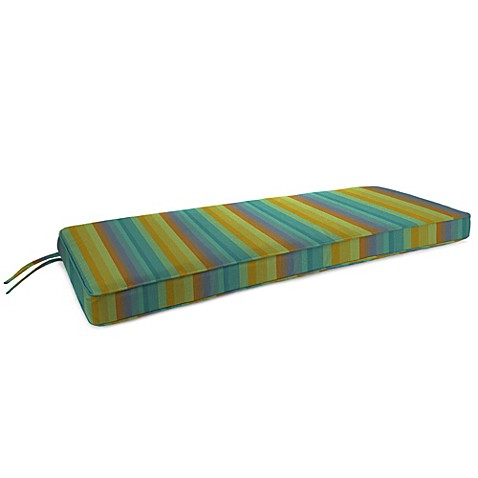 Buy 18 Inch X 48 Inch 2 Person Bench Cushion In Sunbrella Astoria Lagoon From Bed Bath Beyond