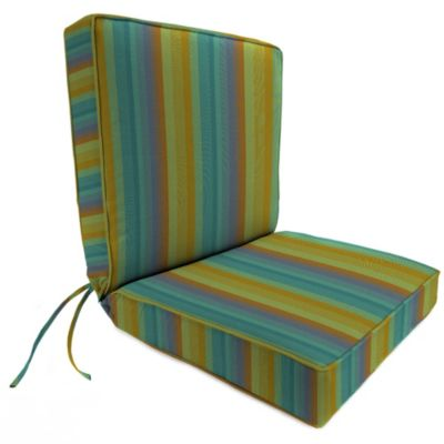Sunbrella® 44-Inch x 22-Inch Dining Chair Cushion in Astoria Lagoon