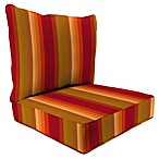 Sunbrella® 24-Inch x 24-Inch 2-Piece Deep Seat Chair Cushion in Astoria Sunset