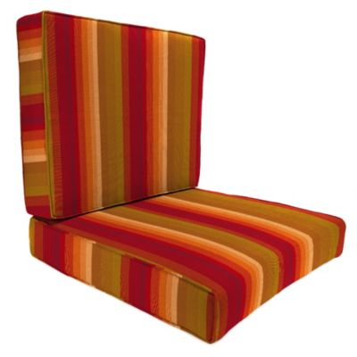 45-Inch x 25-Inch 2-Piece Deep Seat Chair Cushion in Sunbrella® Astoria Sunset