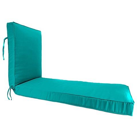 80 inch x 23 inch chaise lounge cushion in sunbrella for Chaise lounge cushion sale