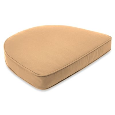 Sunbrella® 19-1/2-Inch x 19-1/2-Inch Dining Chair Cushion in Canvas Camel