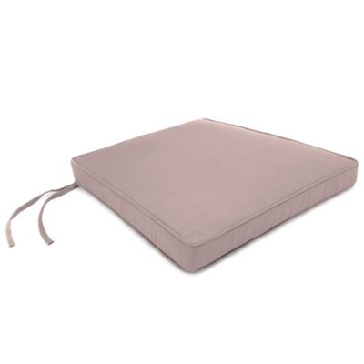 Sunbrella® 17-Inch x 18-1/2-Inch Trapezoid Chair Cushion in Canvas Dusk