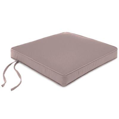 20-Inch Chair Cushion in Sunbrella® Canvas Dusk