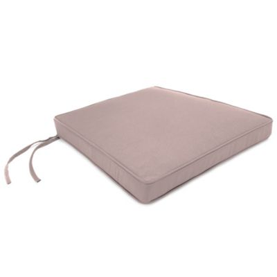 18-Inch x 20-1/2-Inch Trapezoid Chair Cushion in Sunbrella® Canvas Dusk