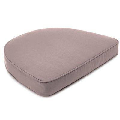 19-1/2-Inch x 19-1/2-Inch Dining Chair Cushion in Sunbrella® Canvas Dusk