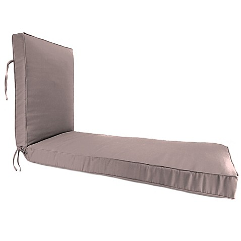 buy 68 inch x 24 inch chaise lounge cushion in sunbrella For24 Wide Chaise Lounge Cushions
