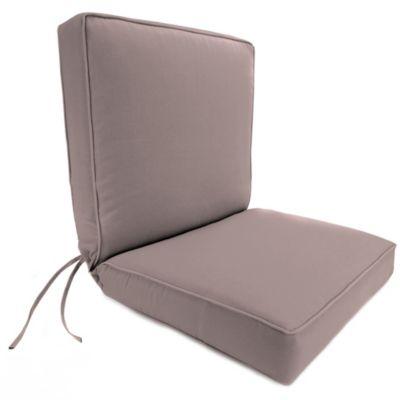 44-Inch x 22-Inch Dining Chair Cushion in Sunbrella® Canvas Dusk