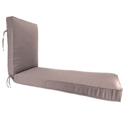 Sunbrella® 80-Inch x 23-Inch Chaise Lounge Cushion in Canvas Dusk