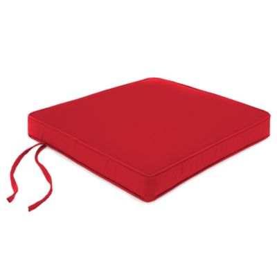 Sunbrella® 20-Inch Chair Cushion in Canvas Jockey Red