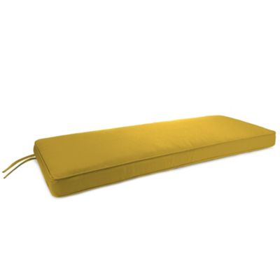 Sunbrella® 18-Inch x 48-Inch 2-Person Bench Cushion in Canvas Maize