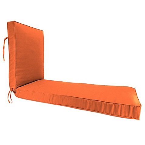 buy 80 inch x 23 inch chaise lounge cushion in sunbrella