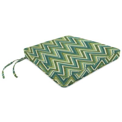 18-Inch x 20-1/2-Inch Trapezoid Chair Cushion in Sunbrella® Fischer Lagoon