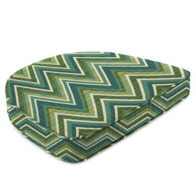 19-1/2-Inch x 19-1/2-Inch Dining Chair Cushion in Sunbrella® Fischer Lagoon