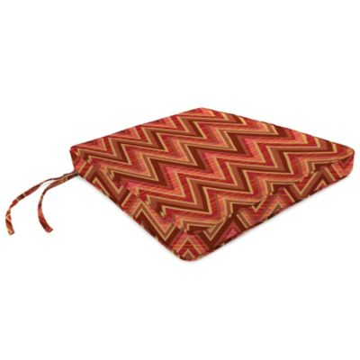 18-Inch x 20-1/2-Inch Trapezoid Chair Cushion in Sunbrella® Fischer Sunset