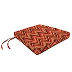 Sunbrella® 17-Inch x 18-1/2-Inch Trapezoid Chair Cushion in Fischer Sunset