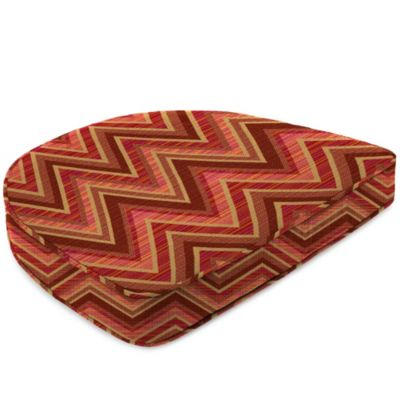 19-1/2-Inch x 19-1/2-Inch Dining Chair Cushion in Sunbrella® Fischer Sunset