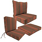 Sunbrella® Outdoor Seat Cushion Collection in Stanton Brownstone