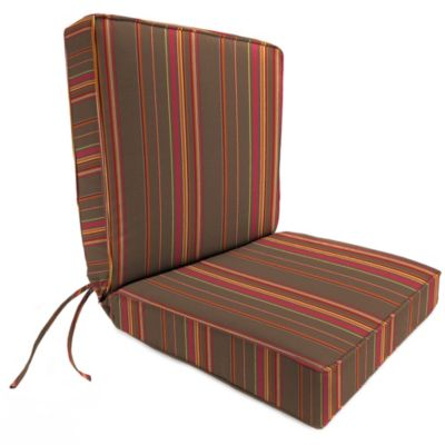 44-Inch x 22-Inch Dining Chair Cushion in Sunbrella® Stanton Brownstone