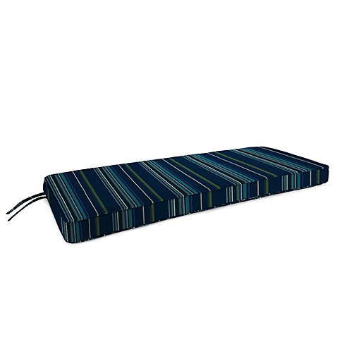 Buy 18 Inch X 48 Inch 2 Person Bench Cushion In Sunbrella Stanton Lagoon From Bed Bath Beyond