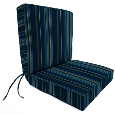 Sunbrella® 44-Inch x 22-Inch Dining Chair Cushion in Stanton Lagoon