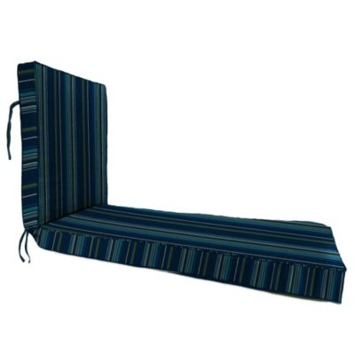 80-Inch x 23-Inch Chaise Lounge Cushion in Sunbrella® Stanton Lagoon