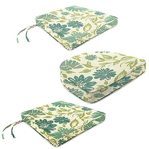 Outdoor Seat Cushion Collection in Sunbrella Violetta