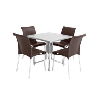 Folding Patio Dining Table