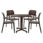 Nardi Bora 5-Piece Dining Chair Set