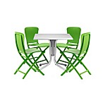 Nardi Zac 5-Piece Dining Chair Set