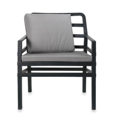 Nardi Aria Conversation Chair in Grey