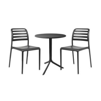 Nardi Costa 3-Piece Balcony Chair Set