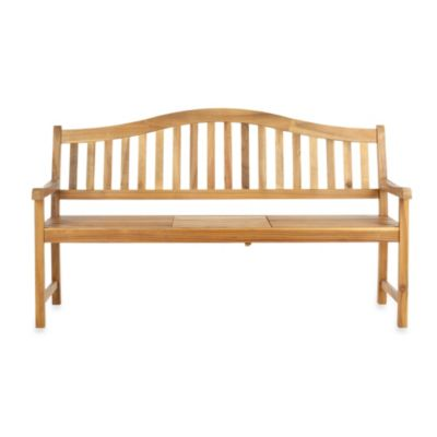 Safavieh Mischa Bench in Ash Grey