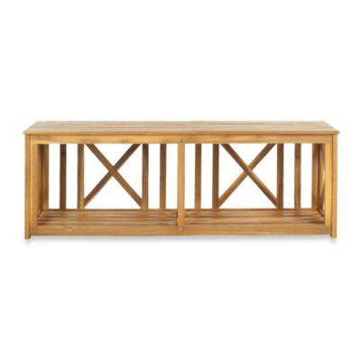 Safavieh Branco Bench in Natural