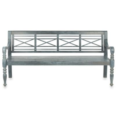 Safavieh Karoo Bench in Ash Grey