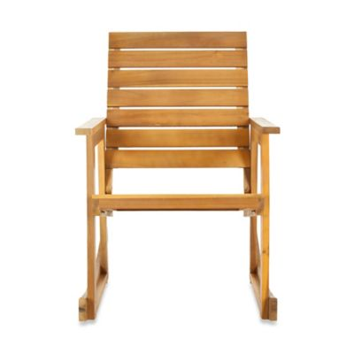 Safavieh Alexei Rocking Chair in Natural