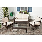 Safavieh 4-Piece Piscataway Chair and Table Set