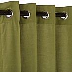 Pawleys Island Sunbrella Outdoor Curtain in Green