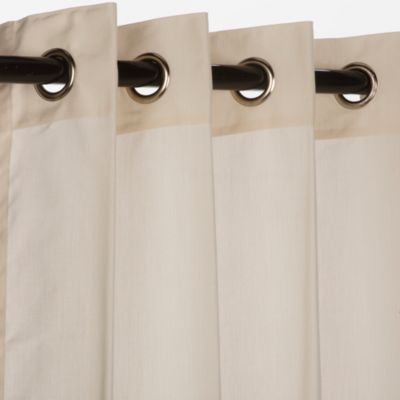 Pawleys Island Sunbrella Outdoor Curtain in Beige
